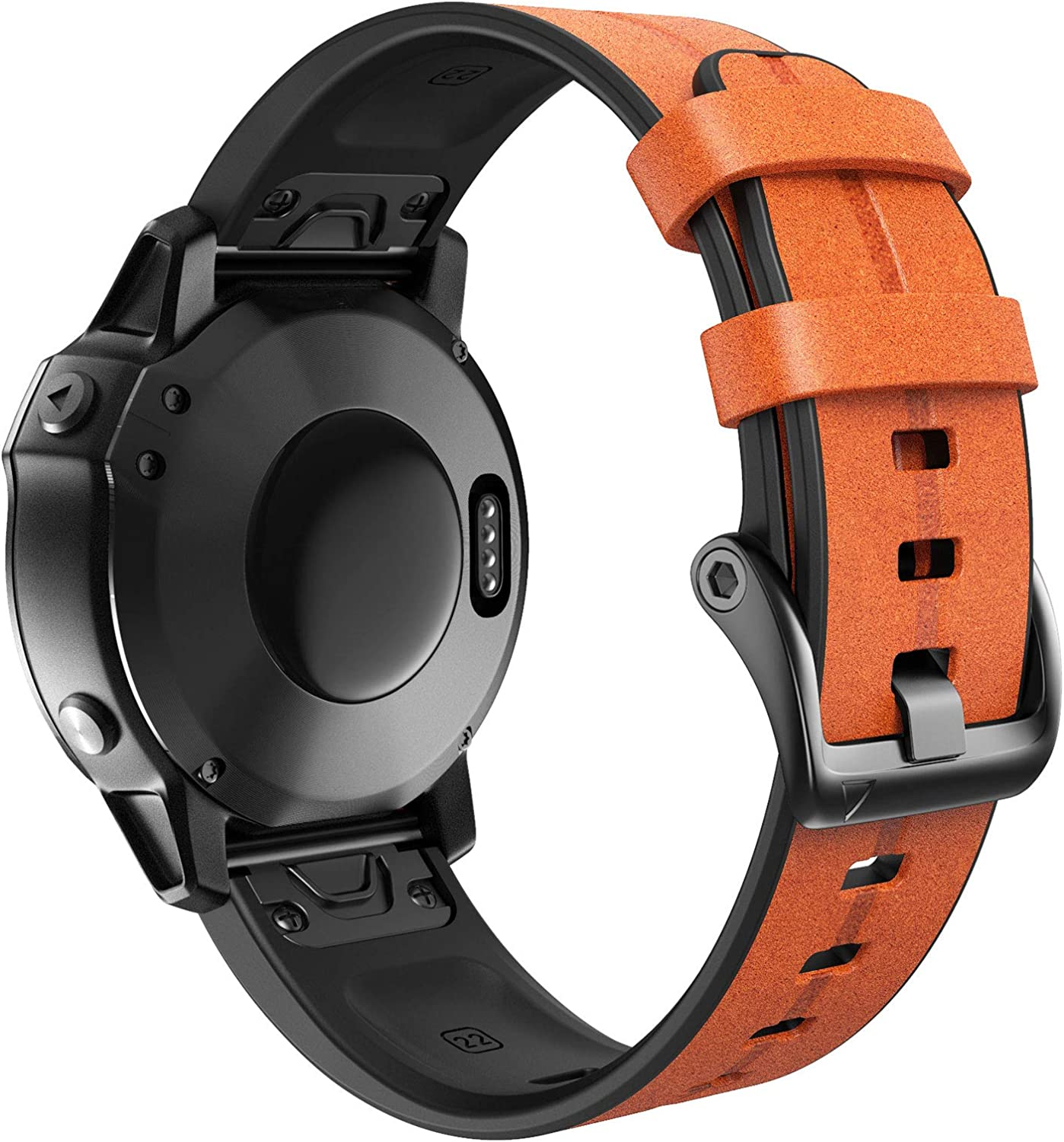 ANCOOL Compatible Fenix Don't miss the campaign 5 Band Ban Silicone Width Max 44% OFF Easy-fit 22mm