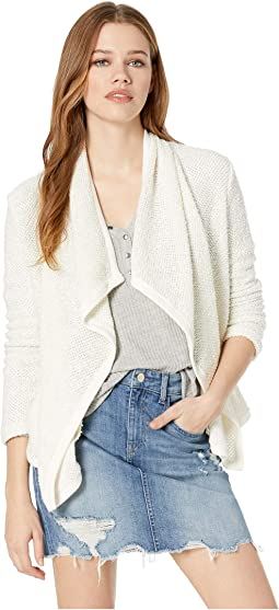 Snow Day Lurex French Terry Jacket