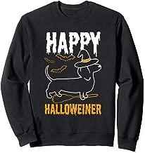 Happy Halloweiner Dachshund Dog Halloween Pet Owner Gift   Sweatshirt