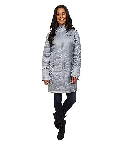 Columbia Mighty Litetm Hooded Jacket (Tradewinds Grey) Women