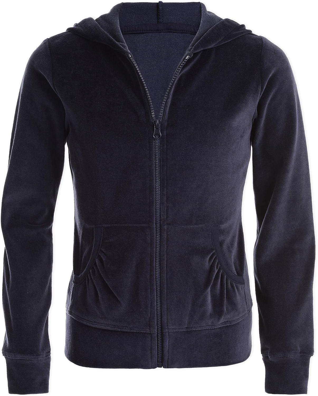 Ranking Max 75% OFF TOP20 Nautica Girls' School Uniform Hoodie Sweatshirt Velour