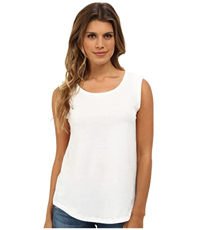 Alternative Cap Sleeve Crew (White) Women