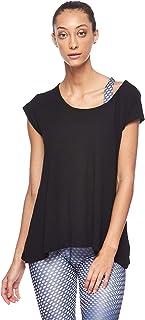 BodyTalk Women's Short-Sleeved T-Shirt, Black, X-Large