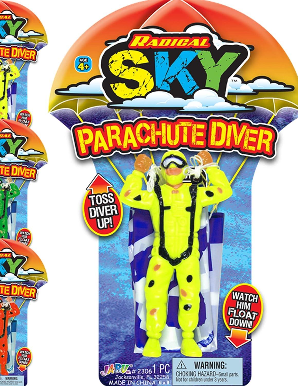 25% OFF OFFicial shop Big Parachute Toy 1 Unit Assorted Children's Color JA-RU. Flyi