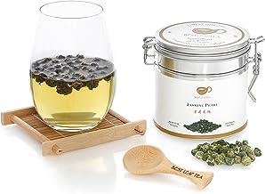 Sponsored Ad - BESTLEAFTEA- Spring Picked Jasmine Pearl Green Tea/Top Quality Chinese Loose Leaf Tea 100 gram/3.5 OZ