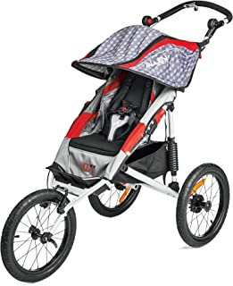 Premier Aluminum 1-Child Jogger, Red, Model J1