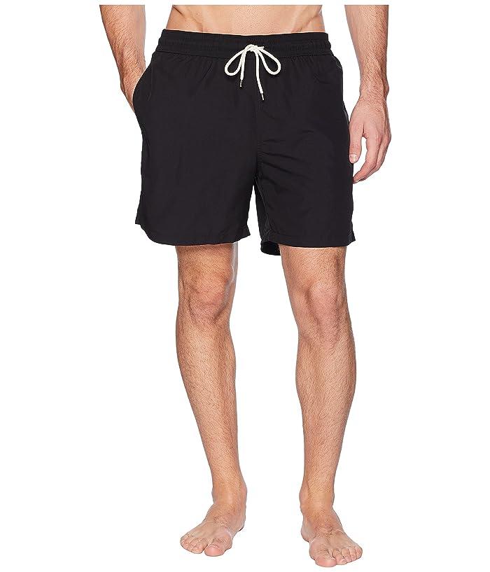 Polo Ralph Lauren Traveler Swim Shorts (Polo Black) Men