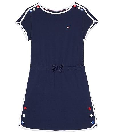 Tommy Hilfiger Kids Dolphin Hem Polo Dress w/ Snap Buttons (Big Kids)