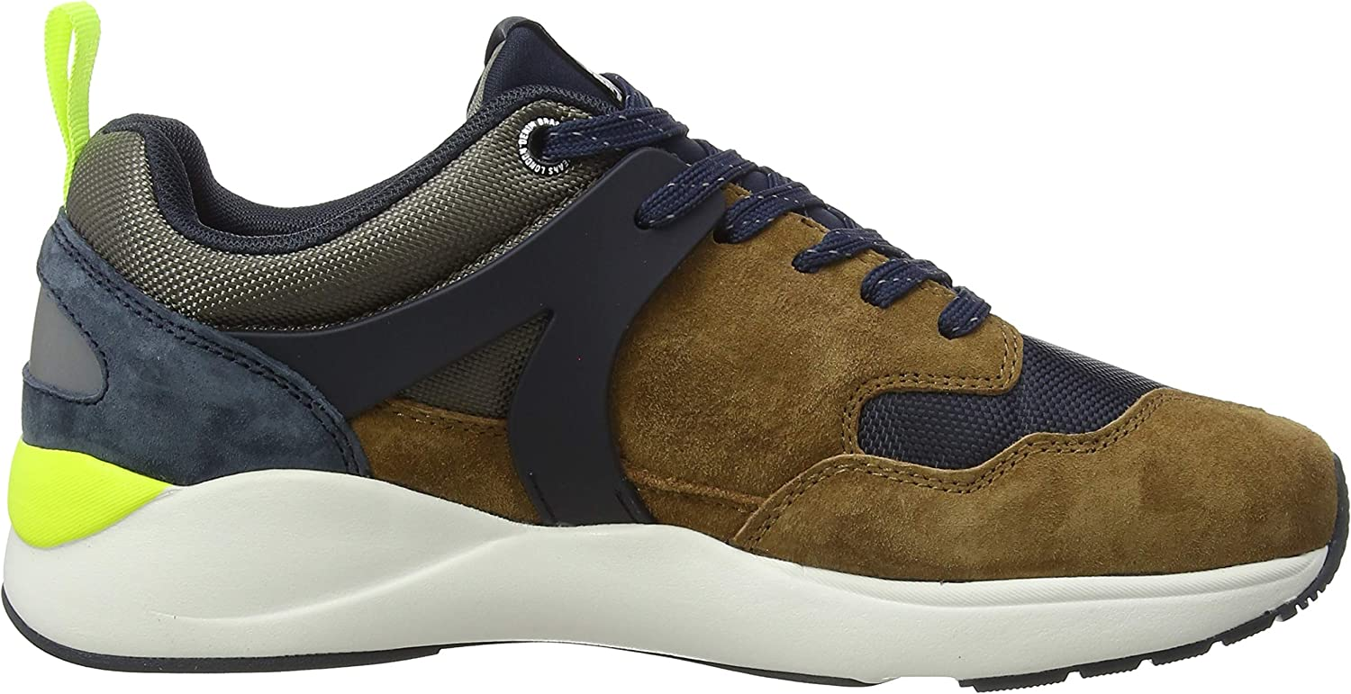 Pepe Jeans Blake 01, Sneakers Basses Homme Marron Tobacco 859