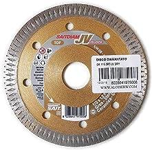 100 pezzi Disco da taglio piatto Sait 01575 Premium TM ZA 46 T diametro 125 mm foro medio 22,23 spessore 1,6 mm