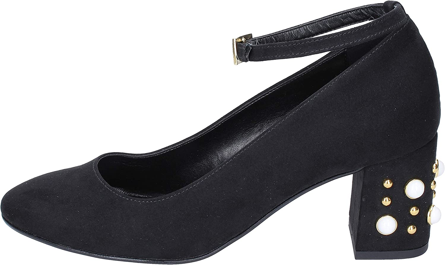 OLGA RUBINI Pumps-shoes Womens Suede Black