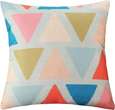 The Pillow Collection Paegna Ikat Dosset Down Down Filled Throw Pillow Decorative Pillows Inserts Covers Home Kitchen