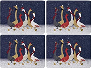 Sara Miller London for Pimpernel Geese Collection Placemats - Set of 4