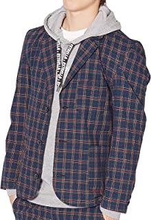 [インプローブス] テーラードジャケット チェック柄テーラードジャケット メンズ 50079