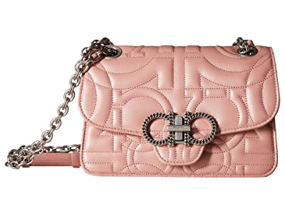 Salvatore Ferragamo Quilting 21H153 (Antique Rose) Handbags