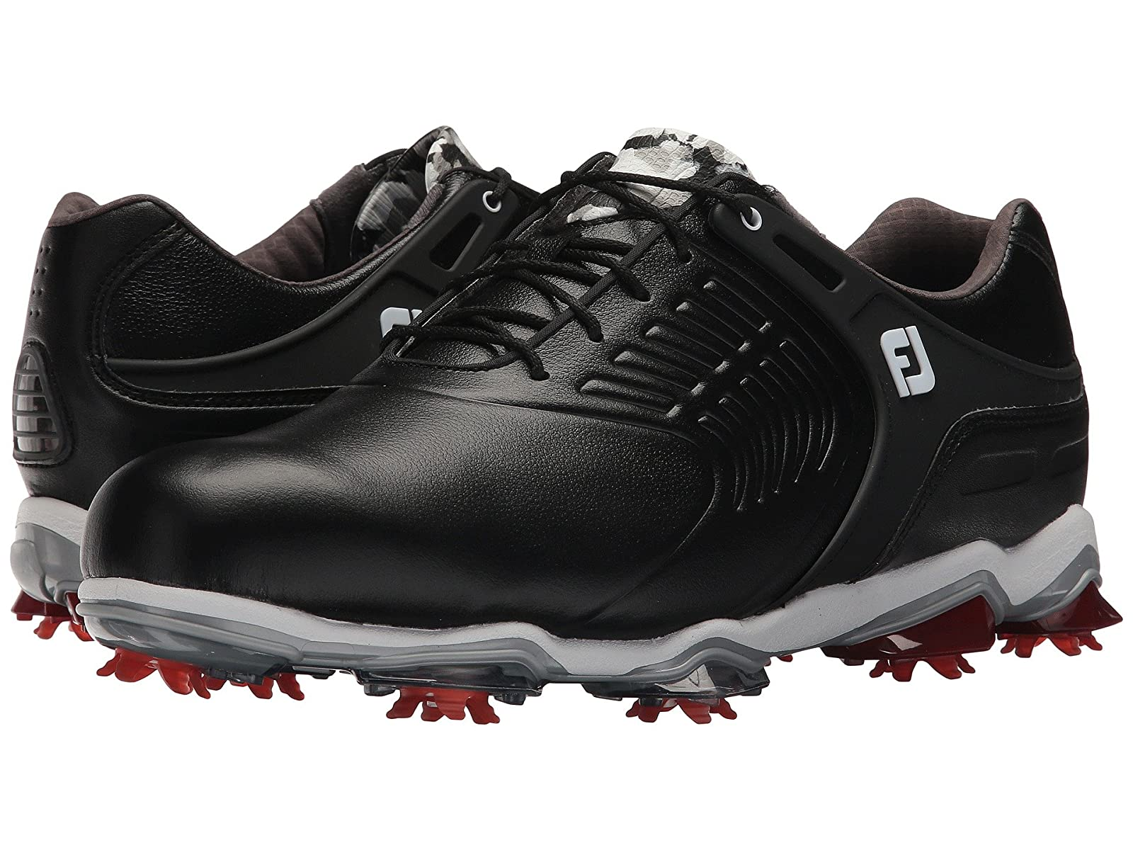 FootJoy Tour S Cleated TPU Saddle StrapAtmospheric grades have affordable shoes