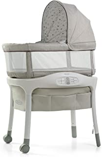 Graco Sense2Snooze Bassinet with Cry Detection Technology | Baby Bassinet Detects & Responds to Baby's Cries to Help Sooth...