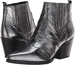 14ac27991670bd Sam Edelman. Valda.  101.25MSRP   225.00. Anthracite Distressed Metallic  Leather