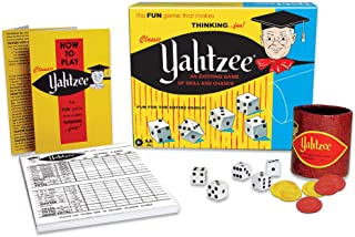 Winning Moves Games 1167 Classic Yahtzee, An Exciting Game Of Skill And Chance