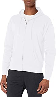 Hanes Men's Full-Zip Eco-Smart Fleece Hoodie