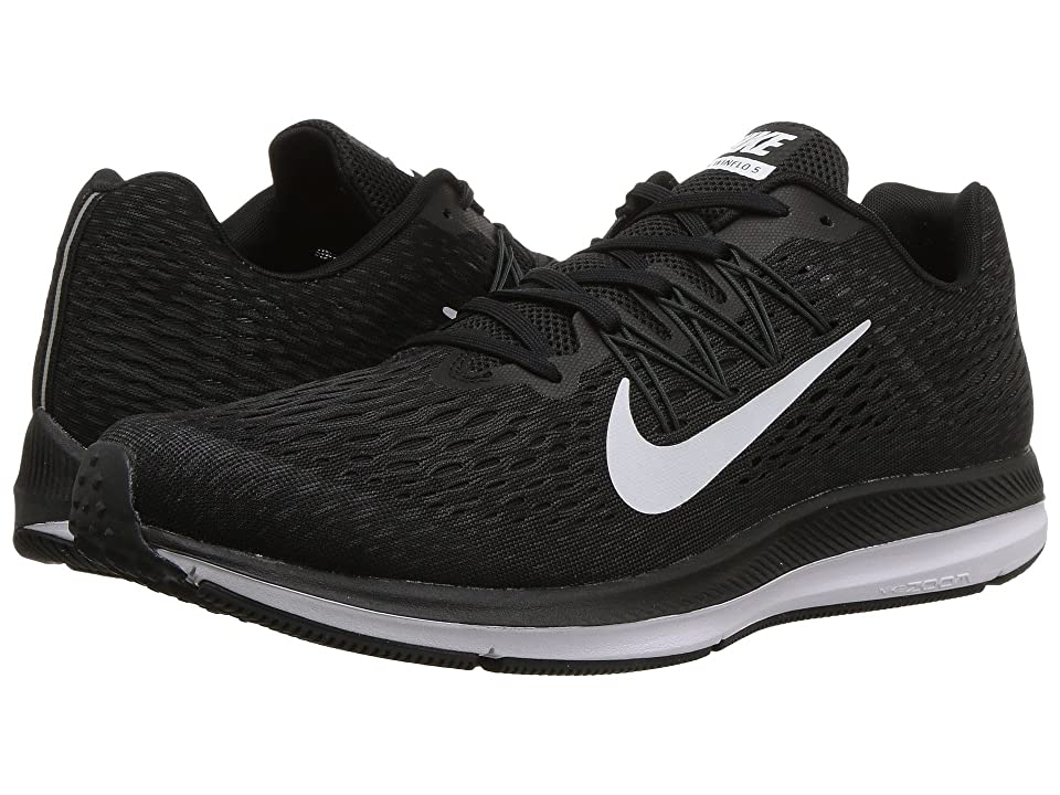 Nike Air Zoom Winflo 5 (Black/White/Anthracite) Men's Running Shoes