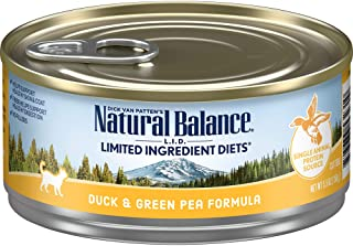 Natural Balance L.I.D. Limited Ingredient Diets Wet Cat Food