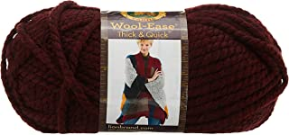 Lion Brand Yarn Company 1-Piece Wool-Ease Thick and Quick, Claret
