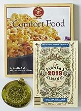 The Old Farmer's Almanac 2019/Comfort Food Cookbook/Sun Catcher Bundle