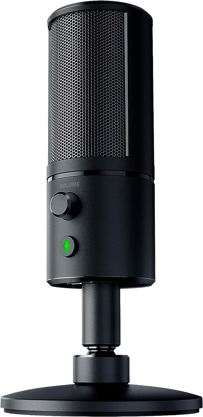 Razer Seiren X Usb Streaming Mikrofon Profi Qualität Computer Zubehör