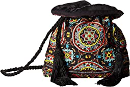 Rope Ornate Tile Crossbody