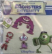 Disney Pin - WDW - Monsters University Booster Set - 102045
