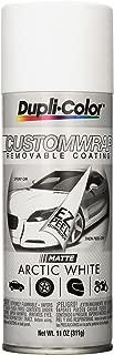 Dupli-Color ECWRC7987 Custom Wrap Matte Arctic White