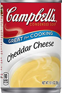 Campbell'sCondensed Cheddar Cheese Soup, 10.5 oz. Can (Pack of 12)