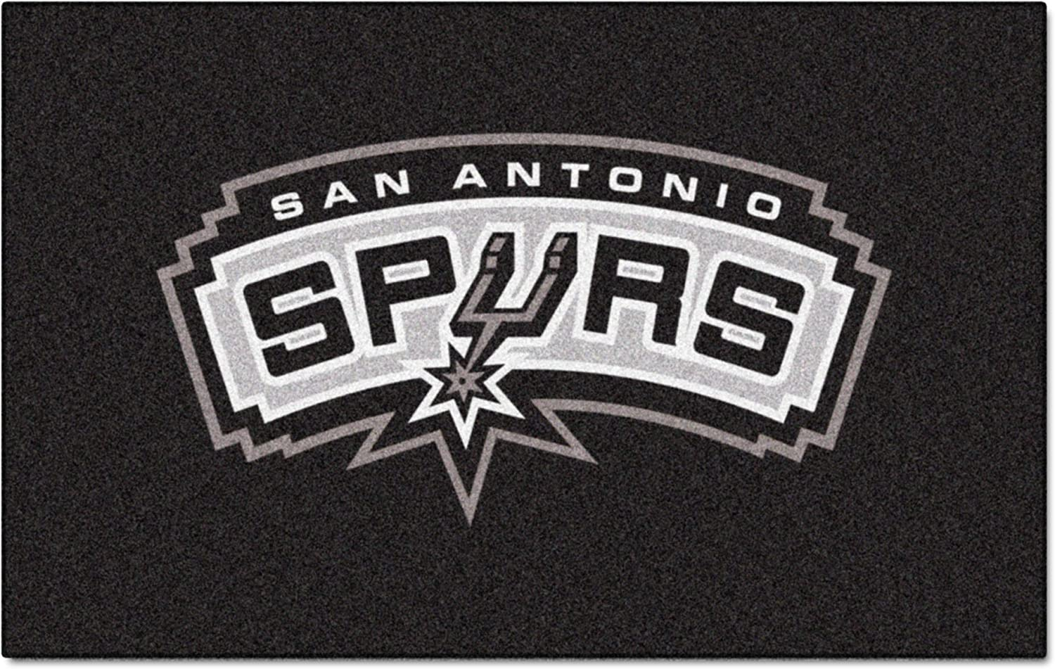 Fanmats 9404 NBA San Antonio Spurs Nylon Face Ultimat Rug