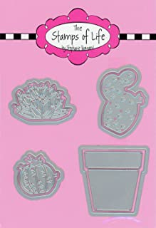Succulents Die Cuts for Card-Making and Scrapbooking Supplies by The Stamps of Life - Succulents ONE