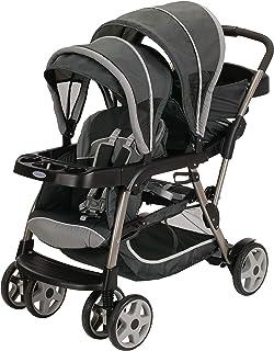 Best Graco Ready2Grow LX Stroller | 12 Riding Options | Accepts 2 Graco SnugRide Infant Car Seats, Glacier Review
