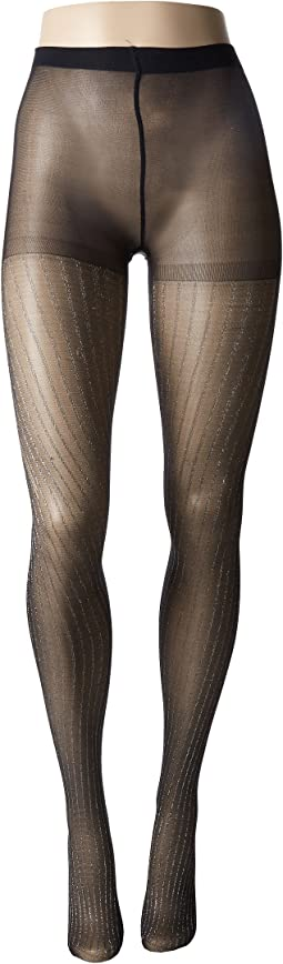Betsey Johnson - 1-Pack Lurex Stripe Tights