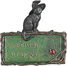 Witch's Cat Spell-Casting Wall Sculpture [Kitchen]