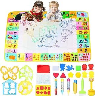 Dessin peinture jouet, CestMall eau dessin peinture tapis réutilisable dessin jouet parfait jouets éducatifs cadeau pas de...