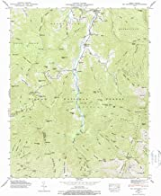 YellowMaps Mt Mitchell NC topo map, 1:24000 Scale, 7.5 X 7.5 Minute, Historical, 1946, Updated 1988, 26.8 x 21.8 in