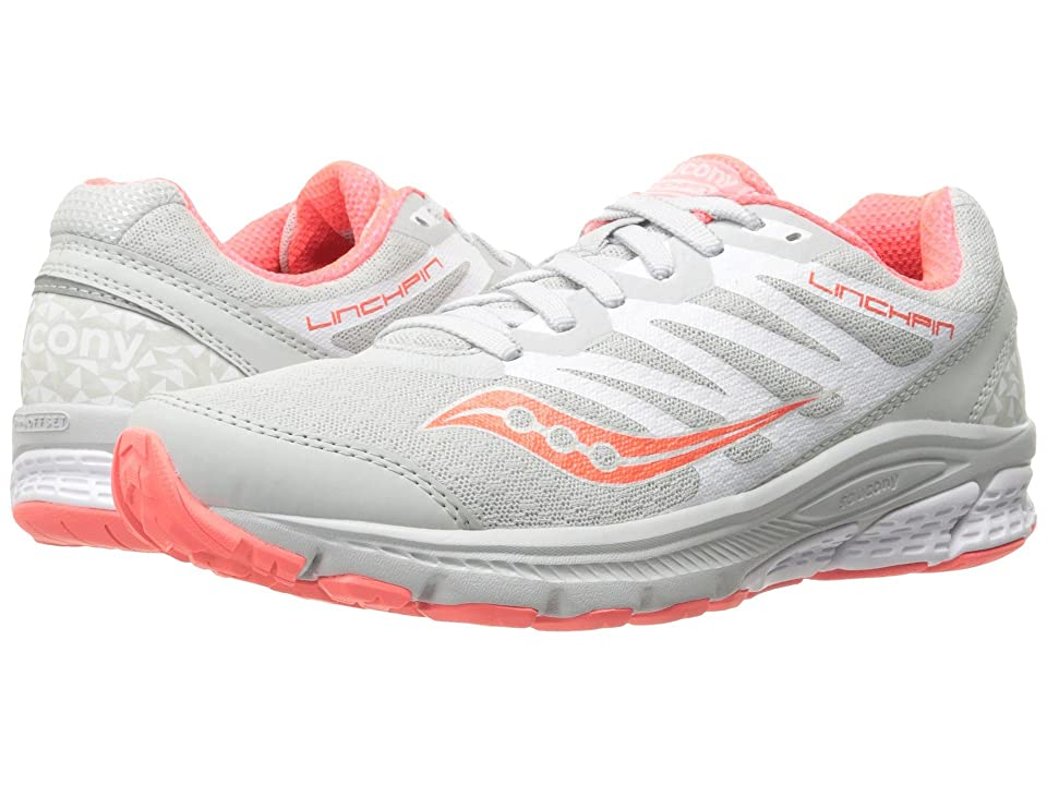 Saucony Linchpin (White/Coral) Women