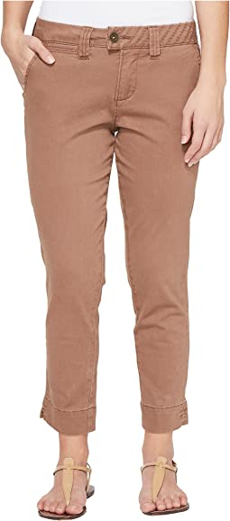 Petite Creston Ankle Crop in Bay Twill