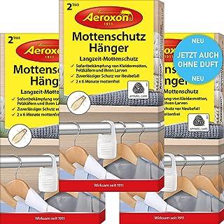 Aeroxon Antipolillas – 3 x 2 unidades – Nuevo completamente inodoro – fiable, fuerte y ráp...