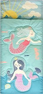 American Kids Mermaid Sleeping Bag, Aqua