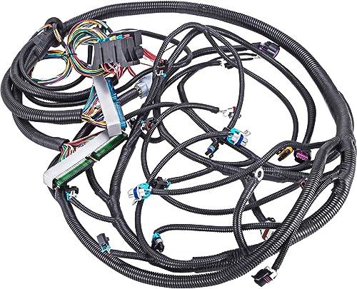 2021 Mophorn Standalone Swap Wiring Harness for 03-07 Chevy GMC Cadillac Vortec 4L60E Standalone Swap Wiring wholesale online Harness DBW 4.8 5.3 6.0 EV6 LS1 Wiring Harness Kit 13-15 ft online sale