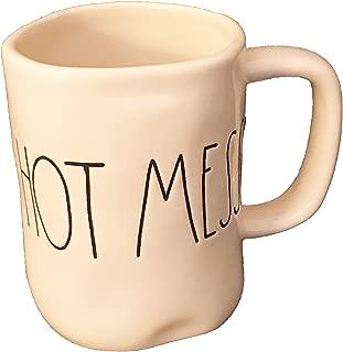 Rae Dunn by Magenta HOT MESS Ceramic LL Coffee Mug