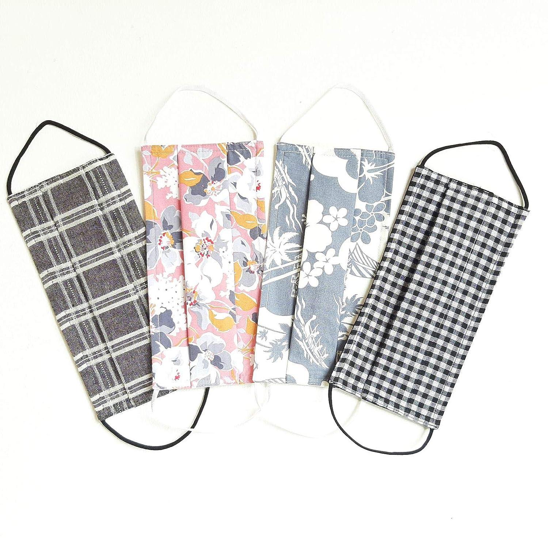 4 Pcs Cotton Face Masks Coverings/set ($6.7per mask) -cotton and