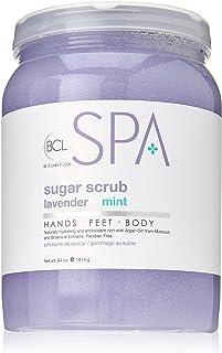 BCL SPA Sugar Scrub Lavender + Mint,64 oz
