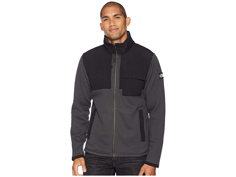 The North Face Be-Layed Back Full Zip Jacket (Asphalt Grey) Men