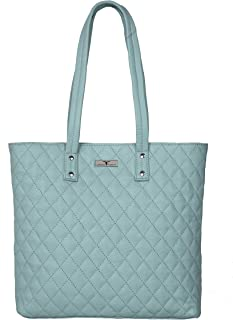 URBAN FOREST Women's Tote Bag (Pastel Blue)
